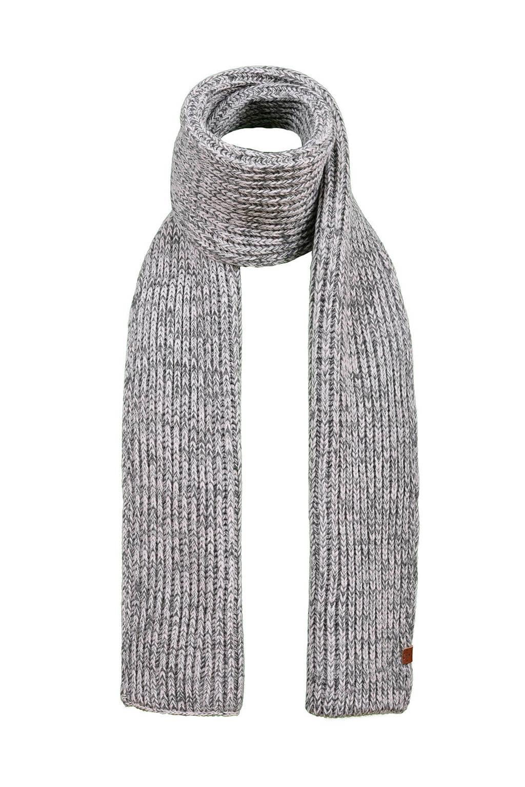 Bickley + Mitchell sjaal grijs melange, Grijs melange