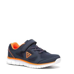 sportschoenen donkerblauw/oranje