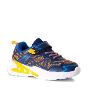sneakers blauw/oranje