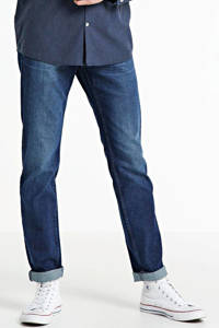 Tom Tailor Denim slim fit jeans Piers donkerblauw, Donkerblauw
