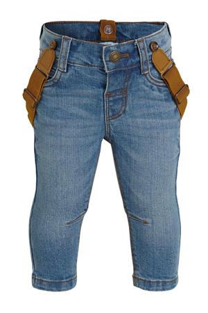 baby slim fit broek blauw
