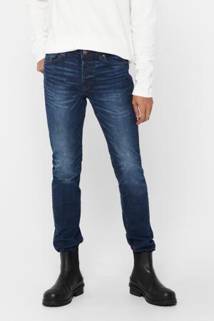 slim fit jeans Loom blauw