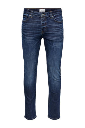 slim fit jeans Loom blauw