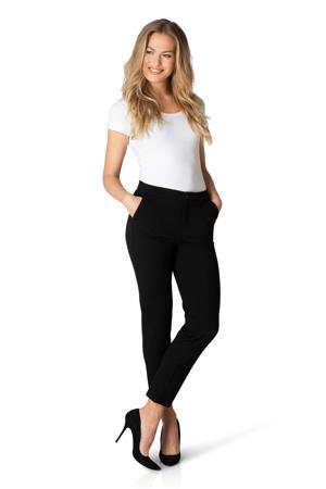 straight fit broek Ymke zwart