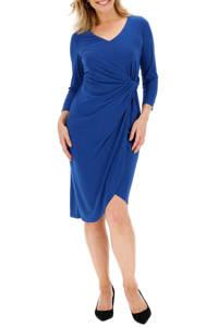 JD Williams jurk met ruches blauw, Blauw