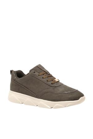 dad sneakers donkergroen