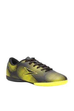 Jr. zaalvoetbalschoenen zwart/geel