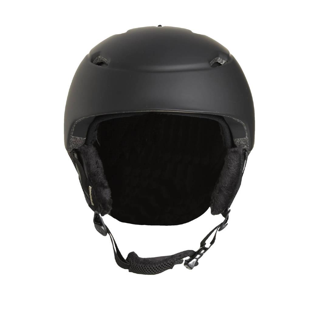 Brunotti skihelm Nicole 1 zwart, Zwart