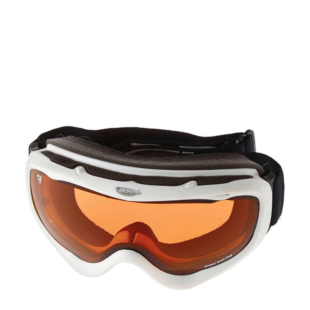 Brunotti skibril Cold 2 Unisex Goggle wit, Wit