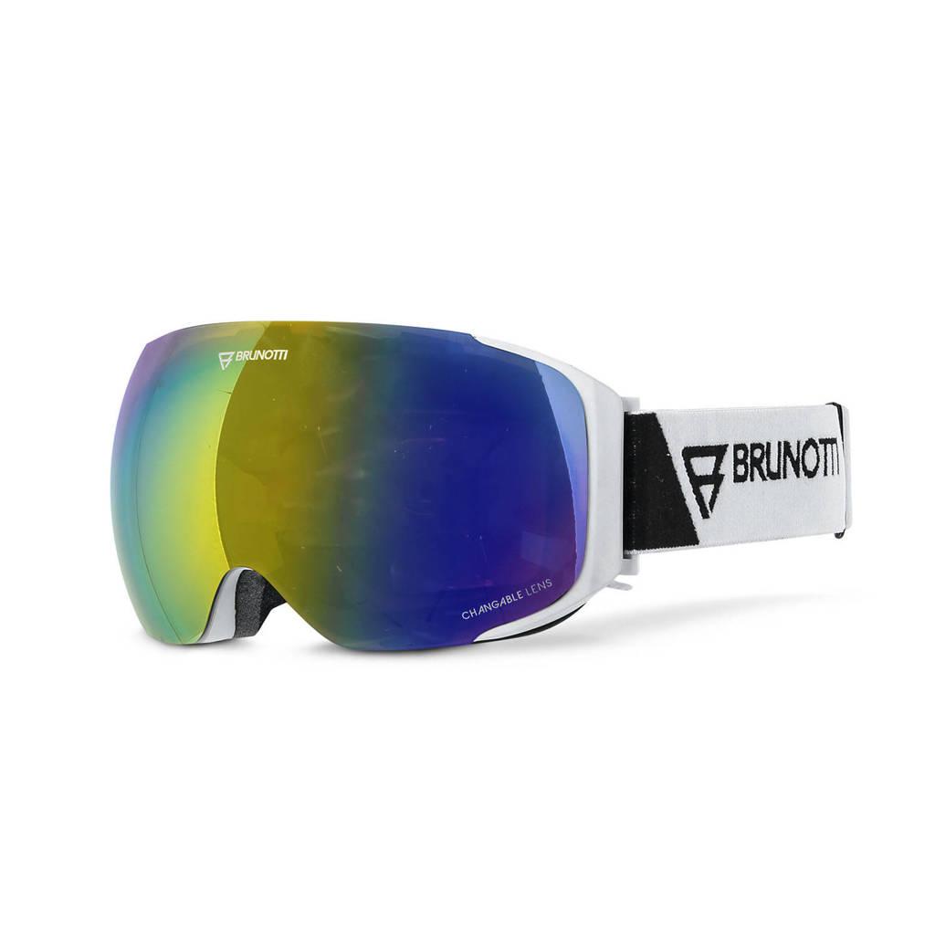 Brunotti skibril Optica 2 wit, Wit