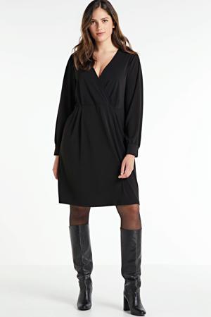 semi-transparante jurk Inis met open detail zwart