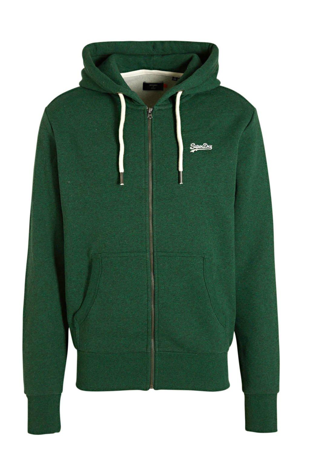 Superdry vest groen, Groen