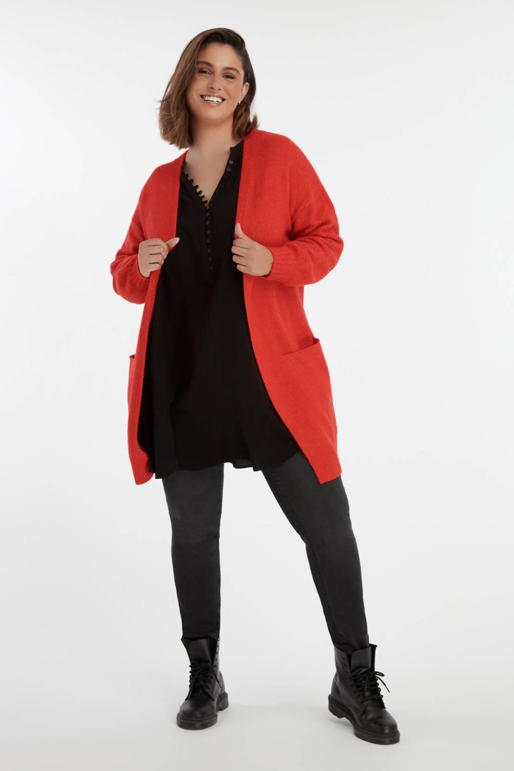 MS Mode vest rood, Rood