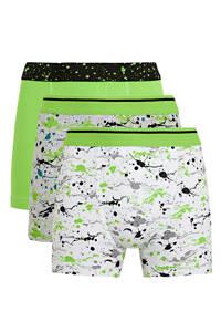 C&A Here & There   boxershort - set van 3 groen, Groen