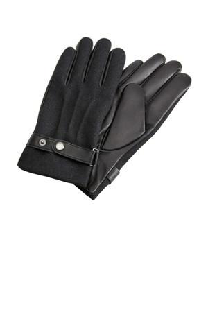 leren handschoenen grijs