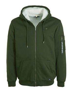 vest groen-wit