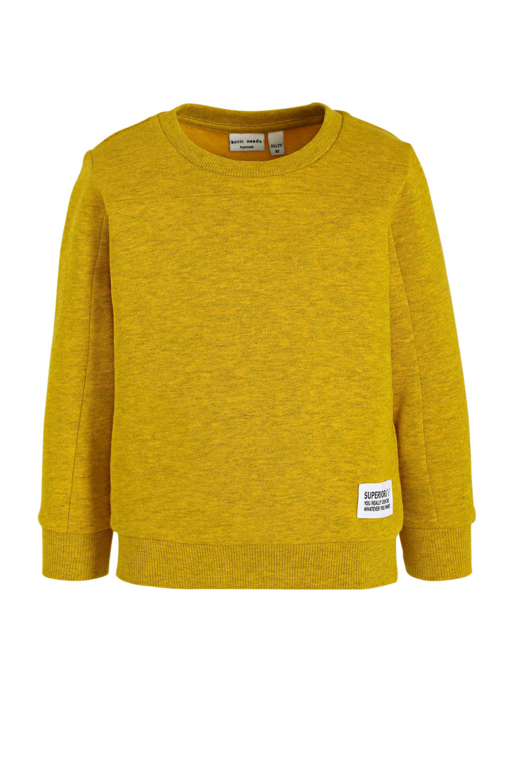 NAME IT MINI sweater Van geel, Geel