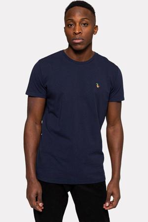 T-shirt van biologisch katoen 1200 DUC donkerblauw