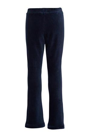 bootcut broek Hilde met biologisch katoen donkerblauw