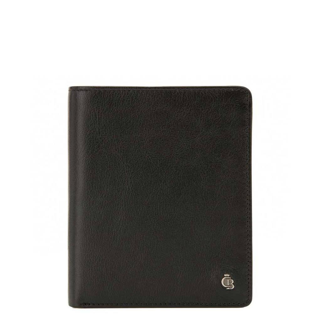 Castelijn & Beerens leren Nova RFID Portemonnee 13cc zwart, Zwart