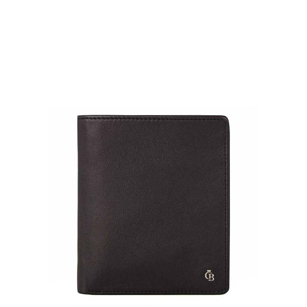 Castelijn & Beerens leren portemonnee Vita Billfold zwart, Zwart