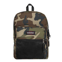 Eastpak  rugzak Pinnacle camouflageprint, Kaki