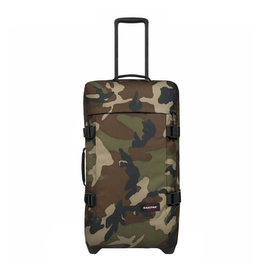 Eastpak  reistas Tranverz M camouflageprint, Kaki camo