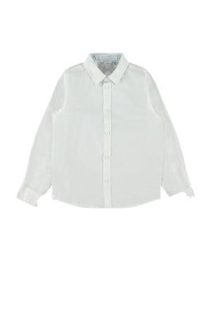 overhemd Raz met biologisch katoen wit