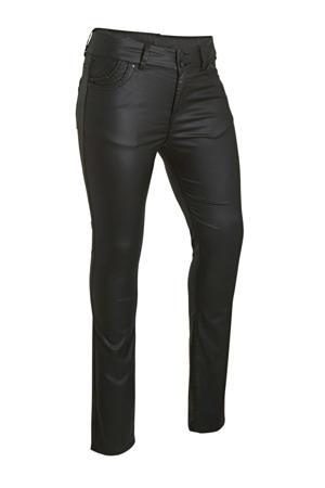 low waist slim fit jeans Vivien night coated wash
