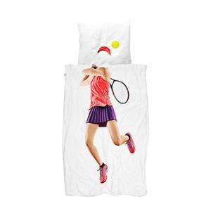 katoenen kinderdekbedovertrek Tennis Pro Light