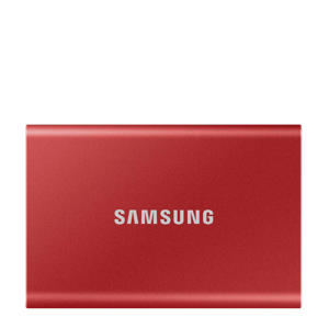 T7 1TB externe SSD (rood)