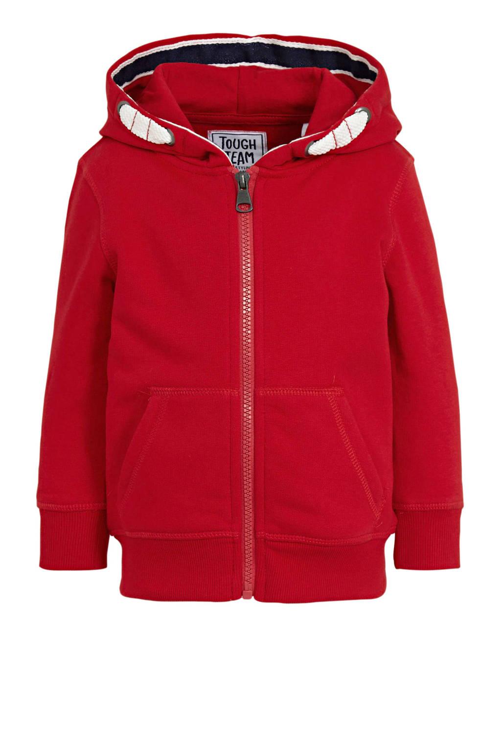 C&A vest met biologisch katoen rood, Rood