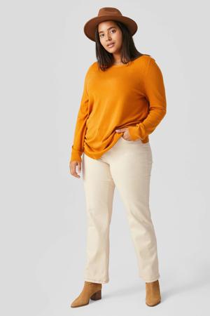 straight fit jeans ecru