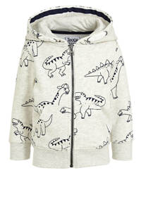 C&A Palomino vest met all over print ecru, Ecru