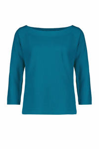 Claudia Sträter T-shirt turquoise, Turquoise