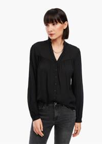 Q/S designed by blouse zwart, Zwart