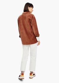 s.Oliver corduroy blouse cognac, Cognac
