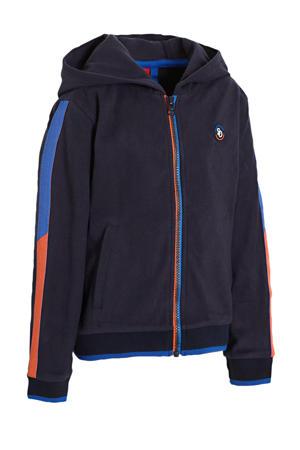 vest donkerblauw/blauw/oranje
