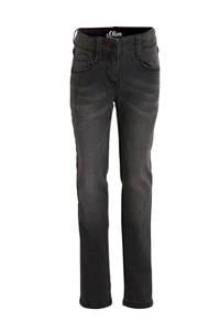 s.Oliver regular fit jeans grijs, Grijs