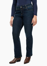 TRIANGLE straight fit jeans dark denim, Dark denim