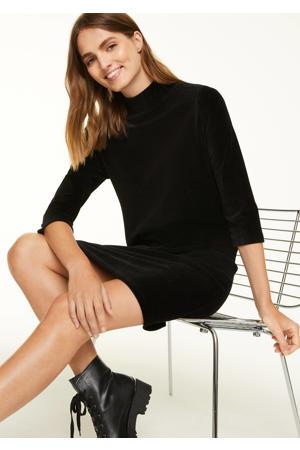 corduroy jurk zwart