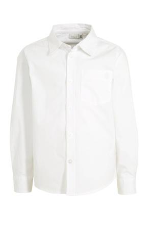 overhemd Raul met biologisch katoen wit