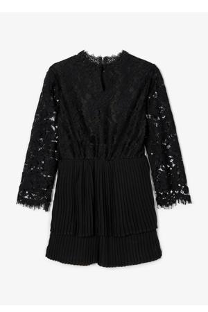 jurk Raita met kant zwart