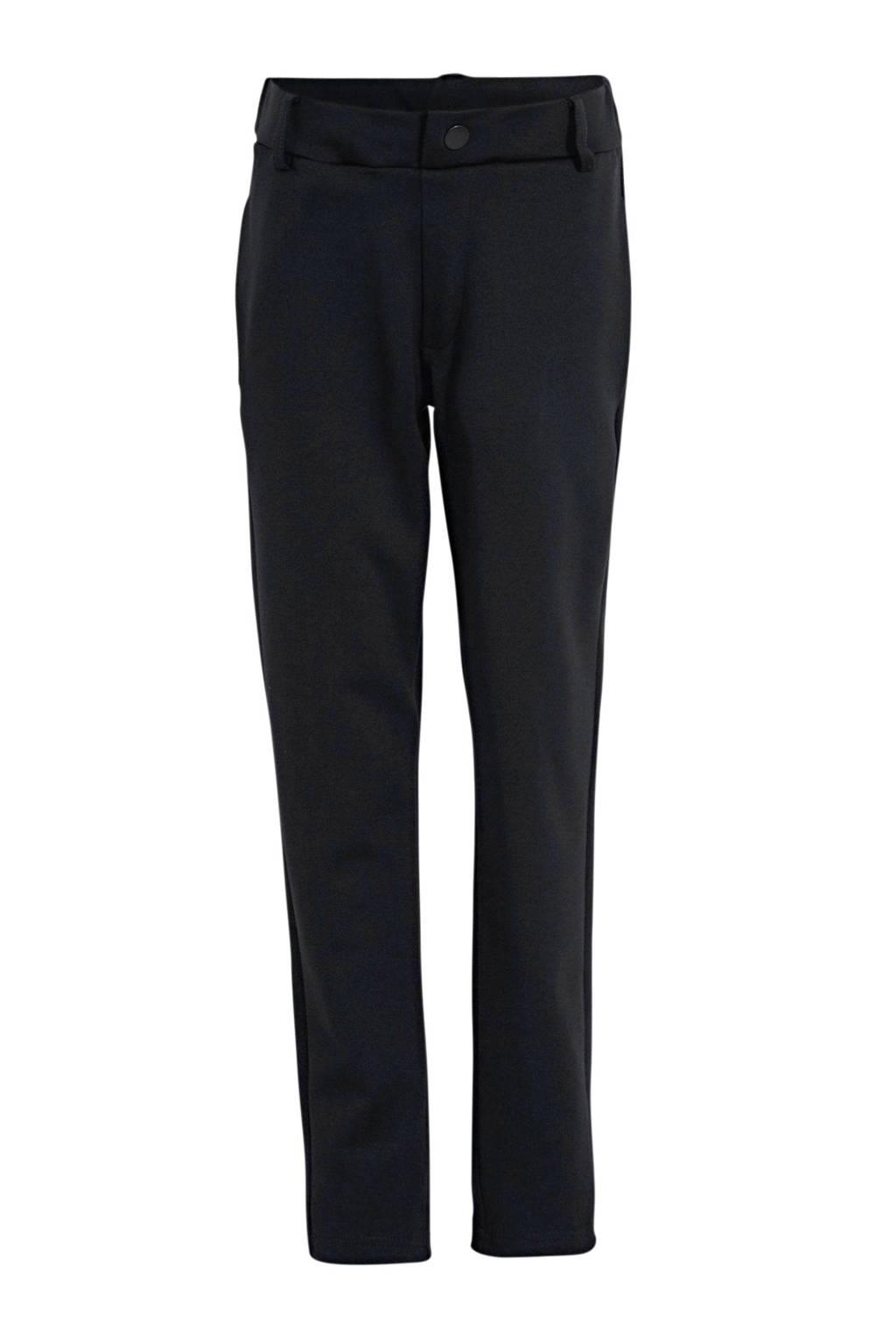 NAME IT KIDS pantalon Singo zwart, Zwart