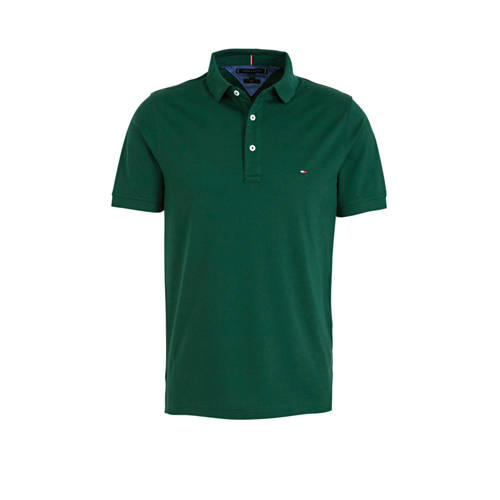 Tommy Hilfiger slim fit polo groen