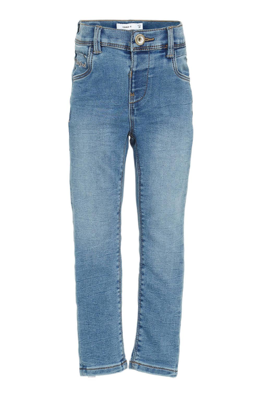 NAME IT MINI skinny jeans Polly lichtblauw, Lichtblauw