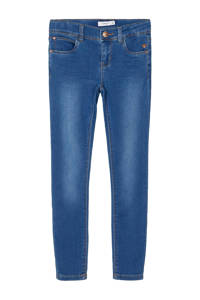 NAME IT KIDS skinny jeans Polly middenblauw