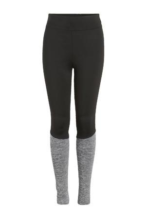 legging Tuvla zwart/grijs melange