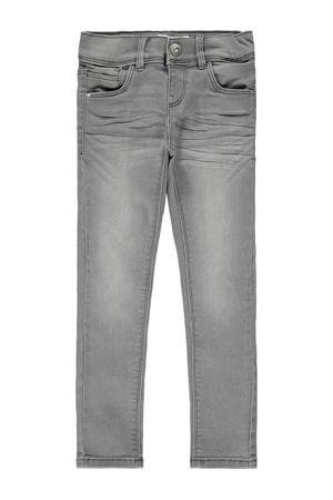 skinny jeans Polly grijs stonewashed