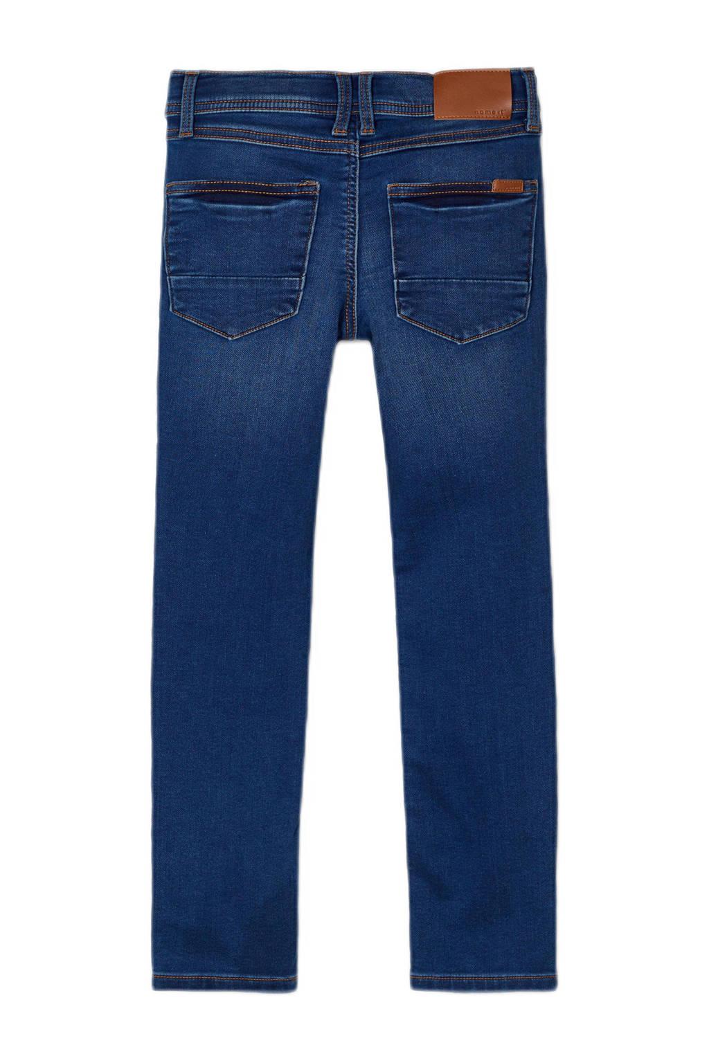NAME IT KIDS slim fit jeans Theo dark denim, Dark denim